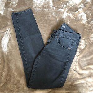 American Eagle Super Stretch Black Skinny Jeans